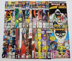 Marvel Comics What If 26 Comic Book Lot with Extras Punisher Spider-Man Venom - $193.49