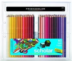 Prismacolor 92808HT  Scholar Colored Pencils, 60-Count - $28.95