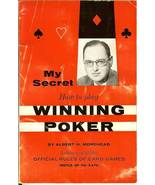 1957 my secret how to play winning poker by albert morehead 1st edition ... - $59.99