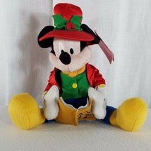 Disney Store Exclusive 2002 Holiday Musical Dancer Mickey Mouse Caroler ... - $29.65