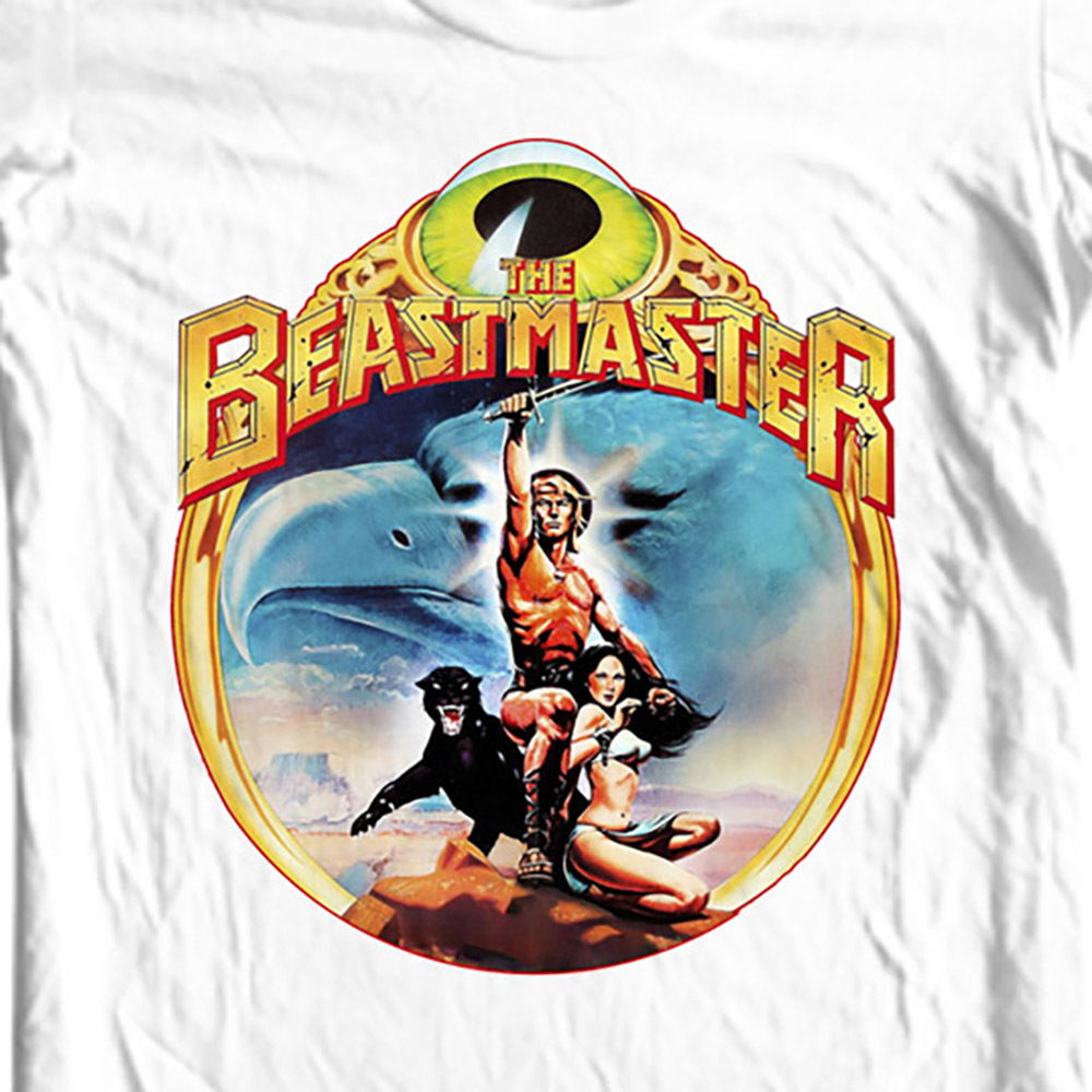Ostalgic fantasy science fiction movie 1970s 1980s film graphic tee for sale online tshirt store