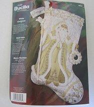 Vintage 2006 Bucilla White Christmas Felt Stocking Kit #85318 - $99.00