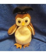 Ty Beanie Baby Wise the Graduation Owl NO TAG - $4.45