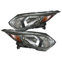 For 2016-2018 Honda HRV HR-V Pair Left+Right Black Replacement Headlights Lamps - $291.12