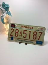 Vintage Indiana License Plate -  - Single Plate 1992 - $16.82