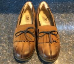 UGG Chestnut HAYLIE Duck/Boat Shoe, S/N 1012215, Women Size 9 - £47.72 GBP