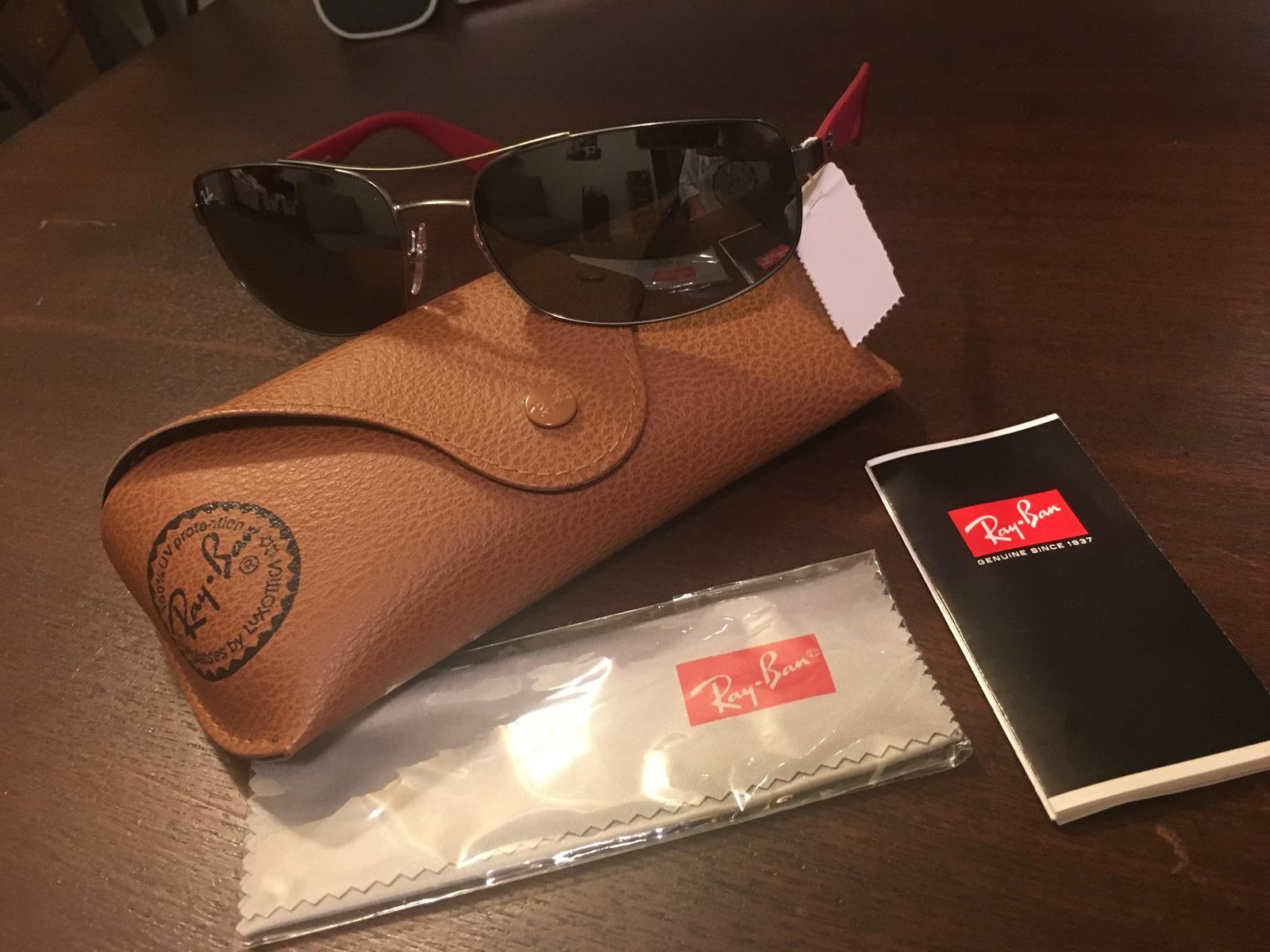 d2987b98cd3 RAY BAN Sunglasses 3527 MATTE GUNMETAL RED GRAY MIRROR SILVER 029 6G