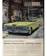 1958 Car Ad Featuring the new 1959 Edsel Ranger Awesome - $14.99