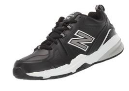 New Balance Men's 608v5 Casual Comfort Cross Trainer Shoe 8.5 Wide Black/White - $91.18