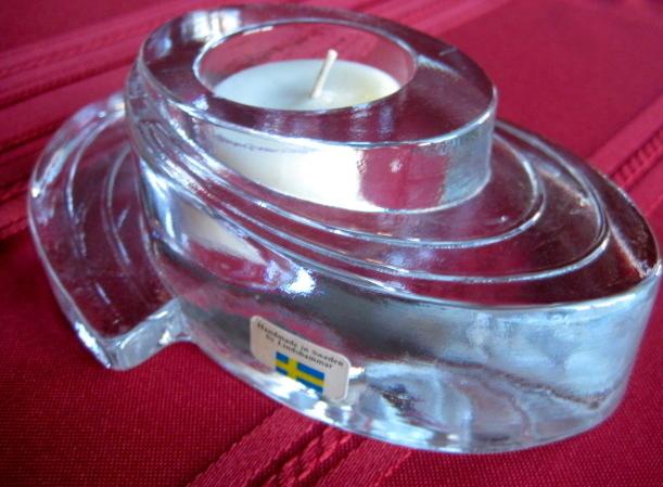 Scandinavian Lindshammar Hand Made Candle Holder