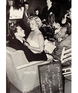 Marilyn Monroe Pinup giving Robert Wagner a Lap Dance! - $5.78