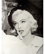 Marilyn Monroe Vintage 2 Sided Pin-up Poster Print  - $4.00