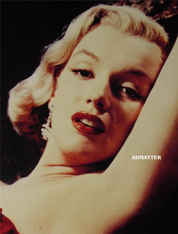 Marilyn Monroe Vintage Hot Pin-up Print Sexy Lips Photo