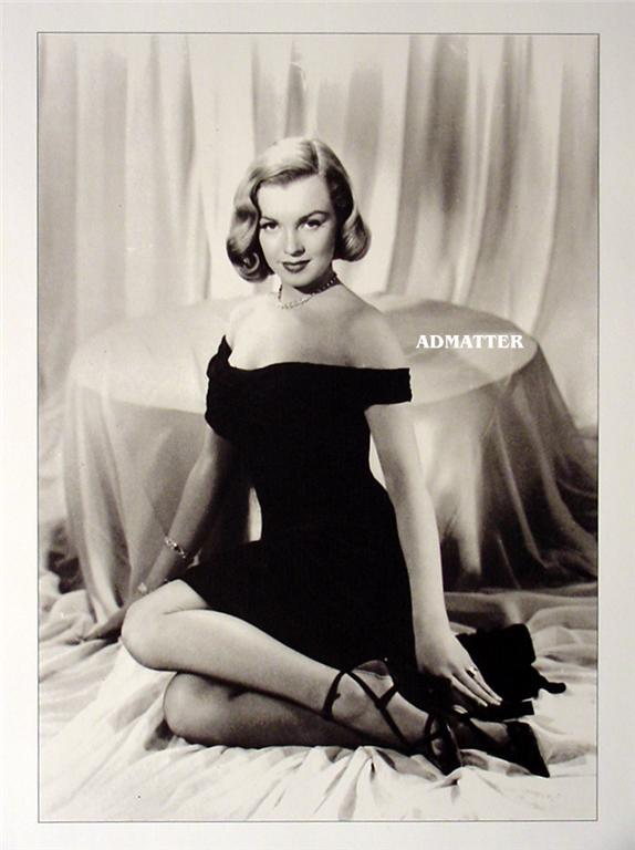 Marilyn Monroe Vintage Pin-up Print Fire Hot Pic!!
