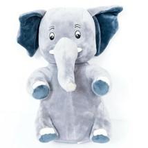 "Elephant Plush 10"" Gray Wrinkly Floppy Ears Stuffed Animal Toy - $17.68"