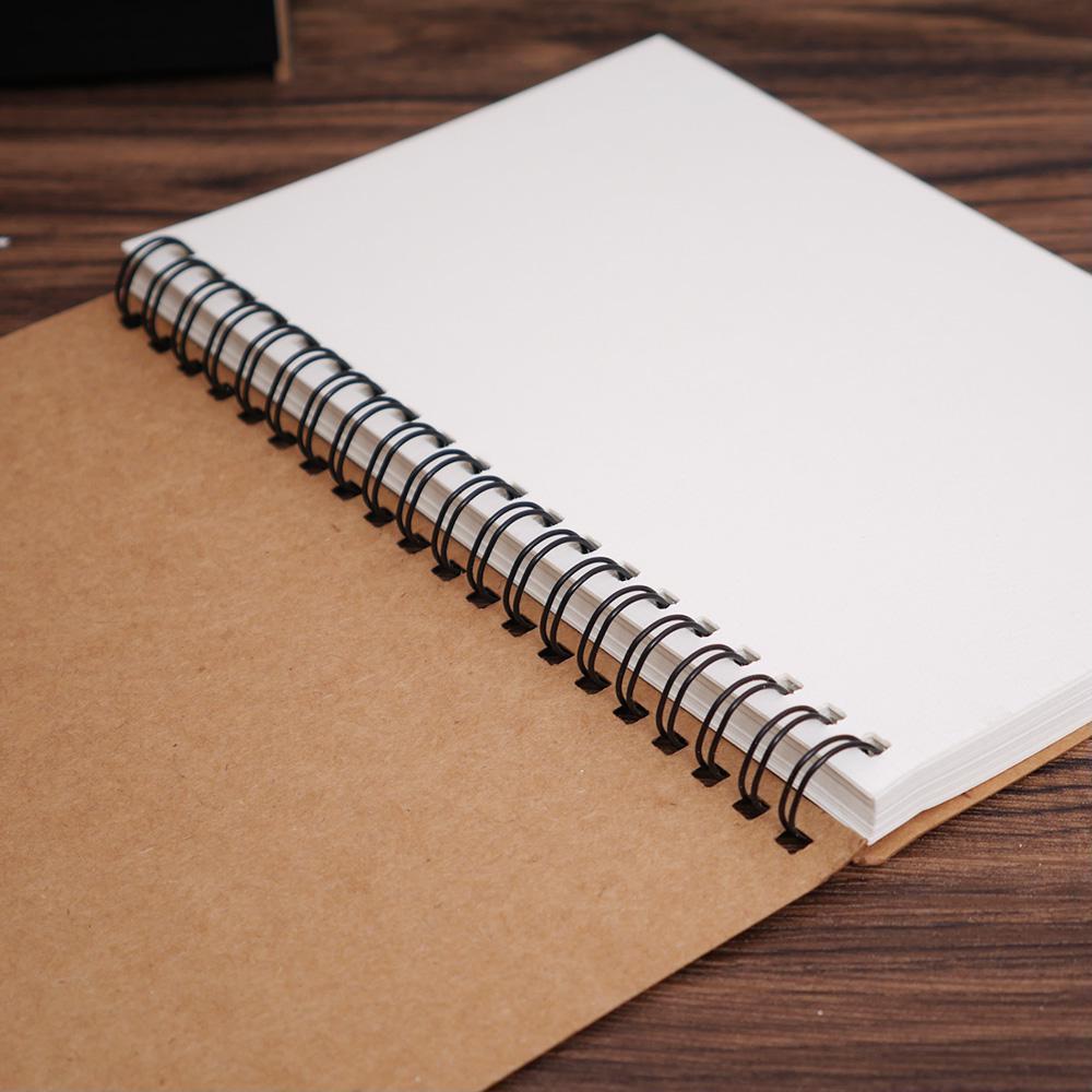 Spiral Coil Sketchbook Diary Student Notebook Memo Pad Sketch Book School Pads