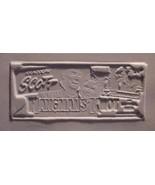 Randolph Scott Donna Reed Rare Hangmans Knot Print Mold - $27.44