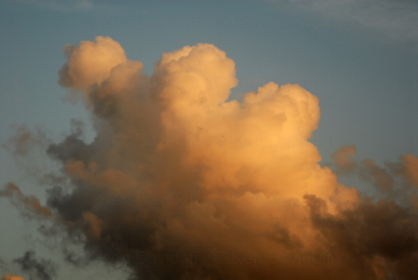 Sunset Cloud #1,  8x12 Photograph