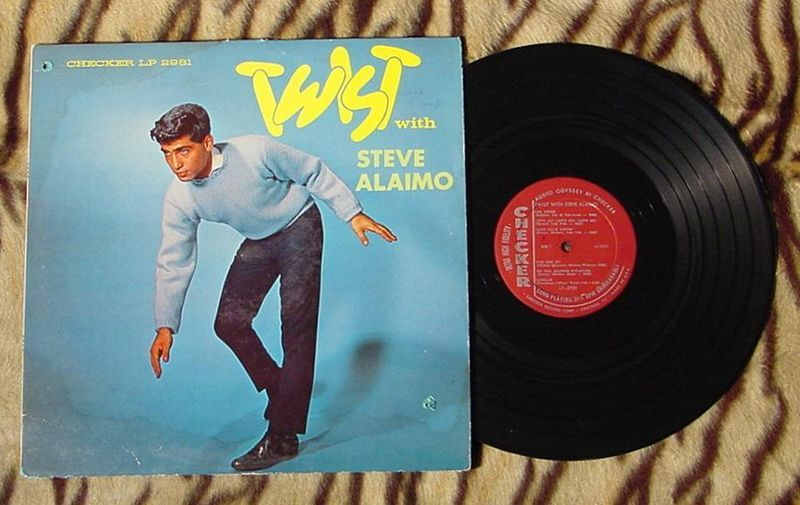 TWIST WITH STEVE ALAIMO LP 2981 IST PRESS DEBUT OLDIES