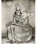VINTAGE BETTY GRABLE TO MY VALENTINE & ANN CORIO 2-SIDED  PIN-UP PHOTO - $11.93