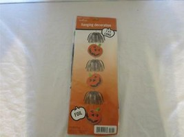 7 FT HALLOWEEN PARTY JACK-O-LANTURN DECORATION HANGS NIP HALLMARK PARTY ... - $4.94