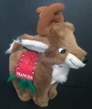 Toy Connection Prancer Reindeer Plush Stuffed Animal Holiday Christmas Deer - $49.49