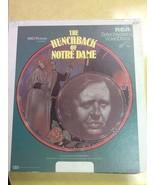 The Hunchback of Notre Dame USED Vintage VideoDisc - $3.96