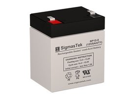 12V 5AH F1 Battery Replaces DJW12-4.5 UB1250 PS-1250 CA1240 NP4-12 RT125... - $19.79
