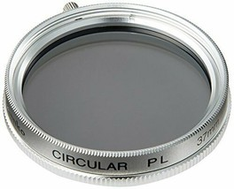 37S CIRCULAR PL Filter Silver for compact digital cameras and video camera - $25.88