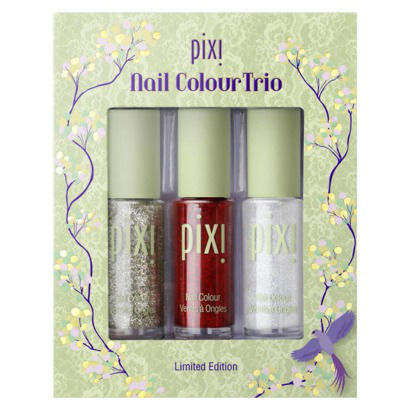 Primary image for Pixi Nail Color High Shine Nail Polish Trio 3 PC Set - Glittery
