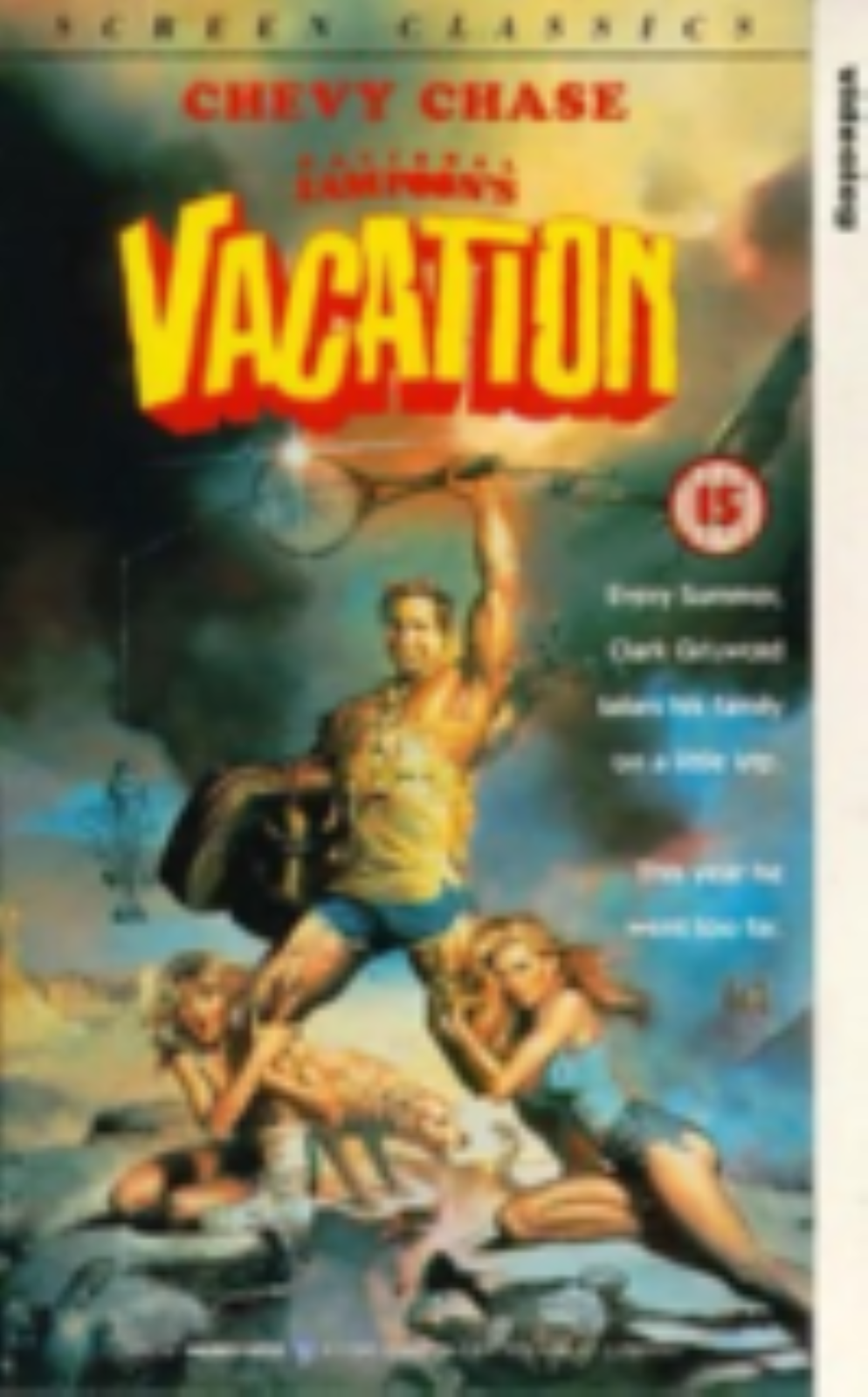 National Lampoons Vacation Vhs