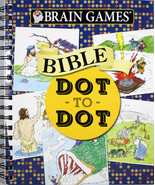 Brain Games Bible Dot-To-Dot Brand NEW Spiral Bound Book 7.8 x 0.8 x 9.2 - $15.04