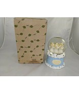 Hallmark Praying Angels Glass Ball Snow Globe Trinket Box Storage - $17.95