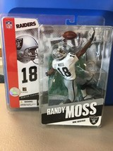 2005 Mcfarlane NFL Randy Moss Series 11 Figure, Oakland Raiders, D1 - $14.50