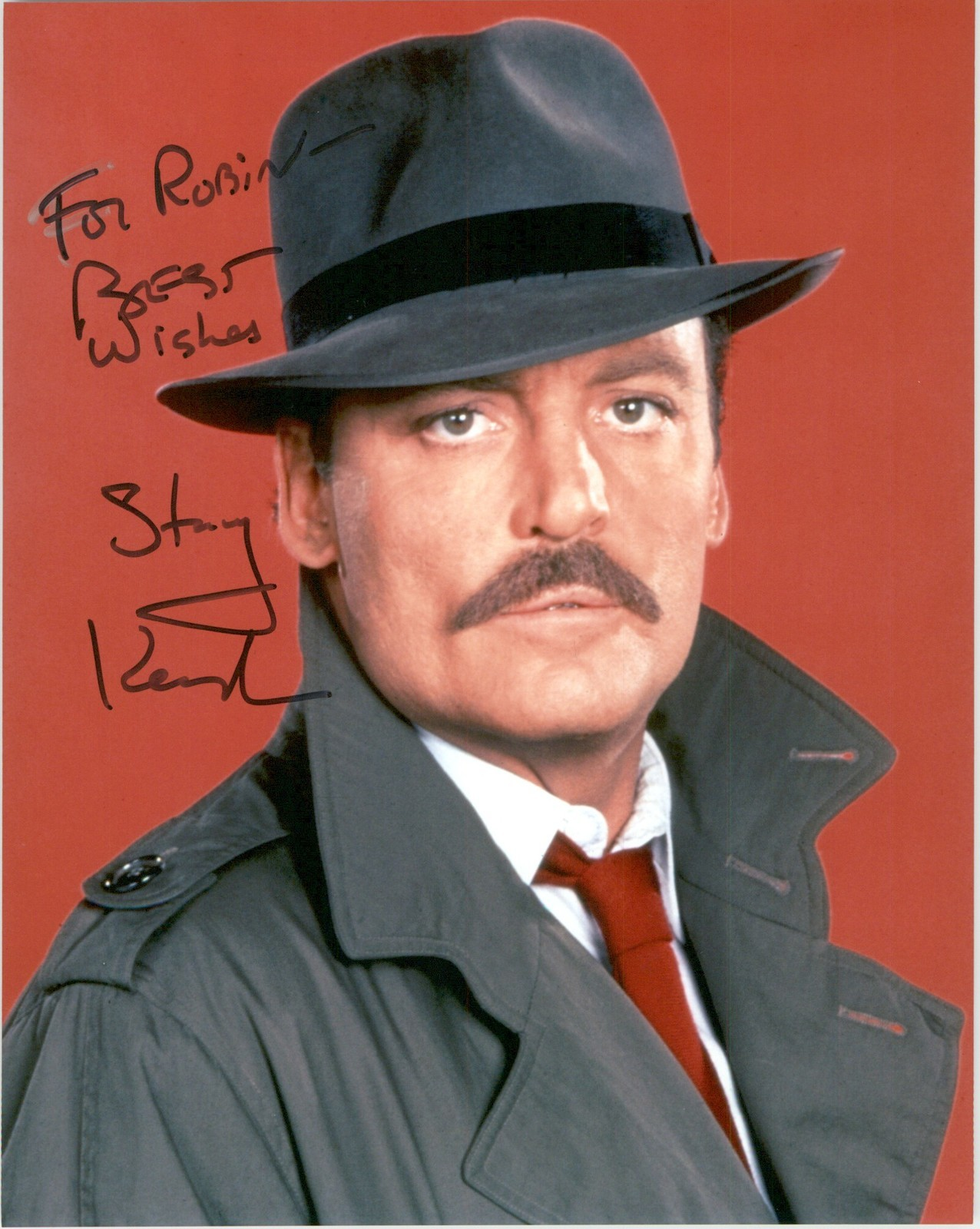 "Primary image for Stacy Keach Signed Autographed ""Mike Hammer"" Glossy 8x10 Photo"
