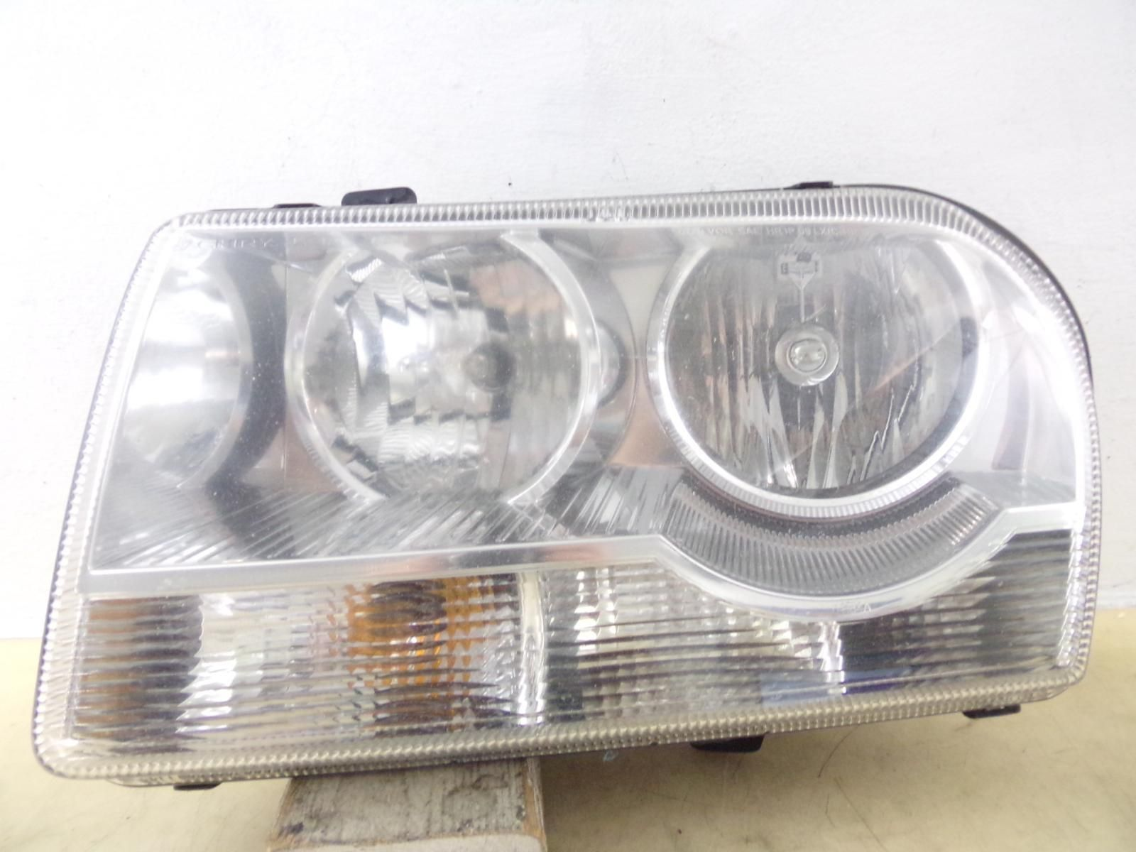 Primary image for 2005 2006 2007 2008 CHRYSLER 300 DRIVER LH 3-BULB HALOGEN HEADLIGHT OEM 14