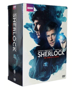 Sherlock: The Complete Series Seasons 1-4 + The Abominable Bride (9 Disc... - $23.99