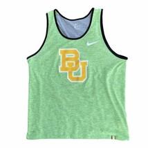 Men's Nike Green Baylor Bears Matte Shine Performance Tank Top Large - $24.74