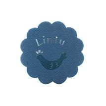 Black Temptation Creative Blue Cartoon Bird Coasters/Placemats in Felt - 8 Pcs - $13.55