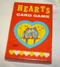 Vtg 1950s HEARTS CARD GAME E.E Fairchild Complete Animal Love - $9.99