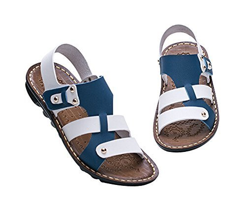 Boy's Sport Sandals Shoes Casual Beach Shoes BLUE, Feet Length 17.4CM