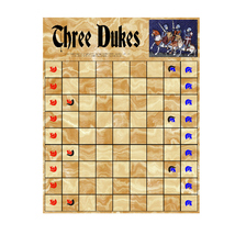 THREE DUKES is based on a challenging Roman strategy games called Ludus ... - $7.95
