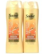 2 Bottles Suave Professional 12.6 Oz Keratin Infusion pH Bal Smoothing S... - $19.99