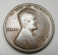 1915-S Lincoln Wheat Cent GOOD Coin AE404 - $14.50