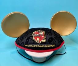 Disney D23 Expo Mickey Mouse Ears Hat 2011 NEW Flocked Souvenir Disney Ears - $24.99