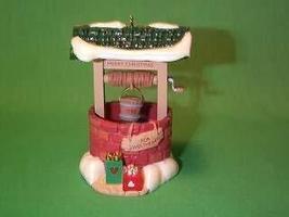 Sweetheart Wishing Well 1990 Hallmark Keepsake Christmas Ornament QX4893 - $4.95