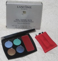 Lancome Sea Sand Sun Palette for Eyes and Lips - NIB - $24.95