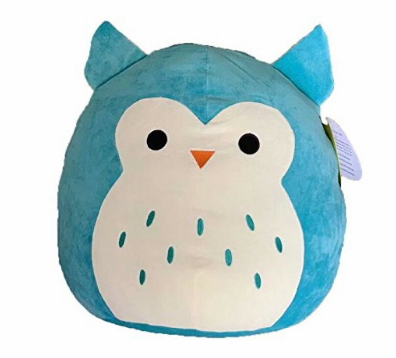 "Primary image for Squishmallows 8"" Turquoise Winston the Owl Super Soft Plush Toy Teddy Bear"