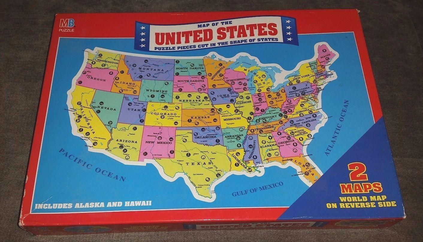 Sealed Vintage United States Puzzle World and 37 similar items