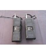 Vintage Pace CB-125 Handheld Walkie Talkie Radios Set of 2 in Cases - $38.73